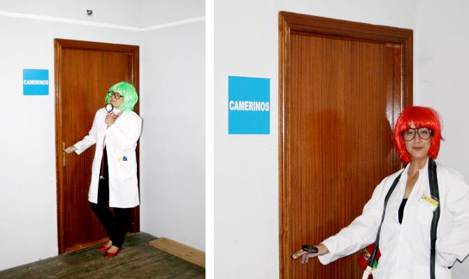 Doctora Queen y Doctora Grajal