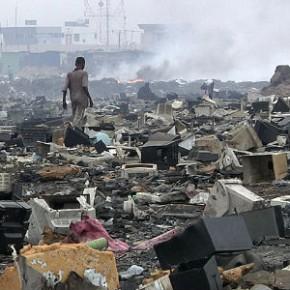 ¿A donde va nuestra e-waste?