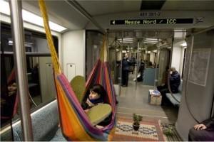 Activismo creativo en el metro de Berlín