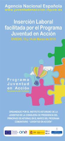 Jornadas sobre inserción laboral facilitada por el programa Juventud en Acción.
