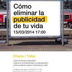 Charla/ Taller: Cómo eliminar la publicidad de tu vida