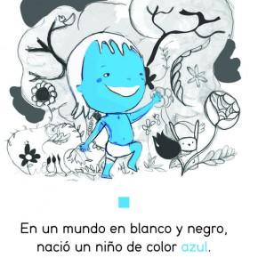 EL NIÑO AZUL