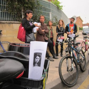 Arte en bici en Avilés