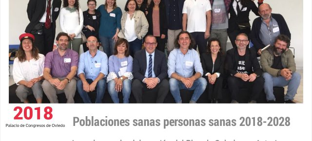 JORNADAS POBLACIONES SANAS PERSONAS SANAS 2018-2028