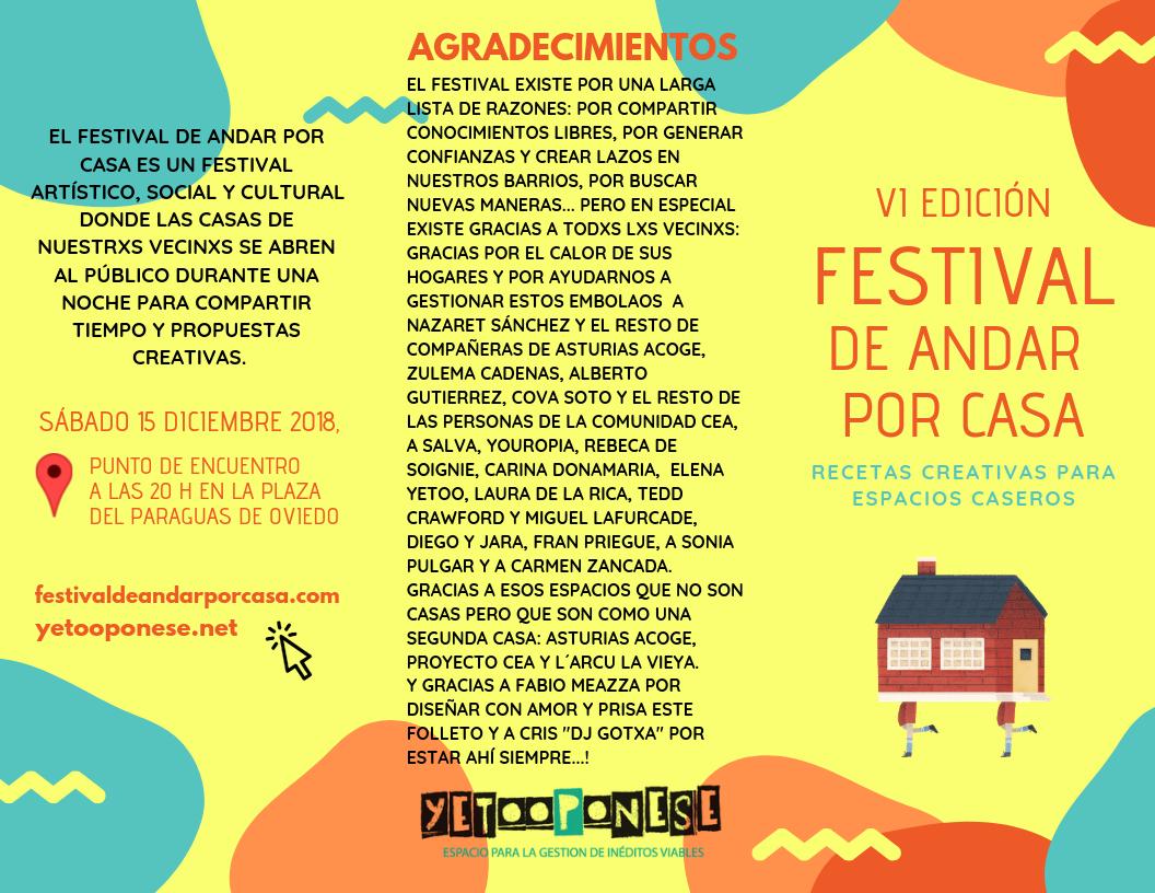 FESTIVAL DE ANDAR POR CASA EDICIÓN FRESCUNI